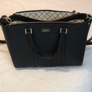 Kate Spade Black Newbury Lane Satchel